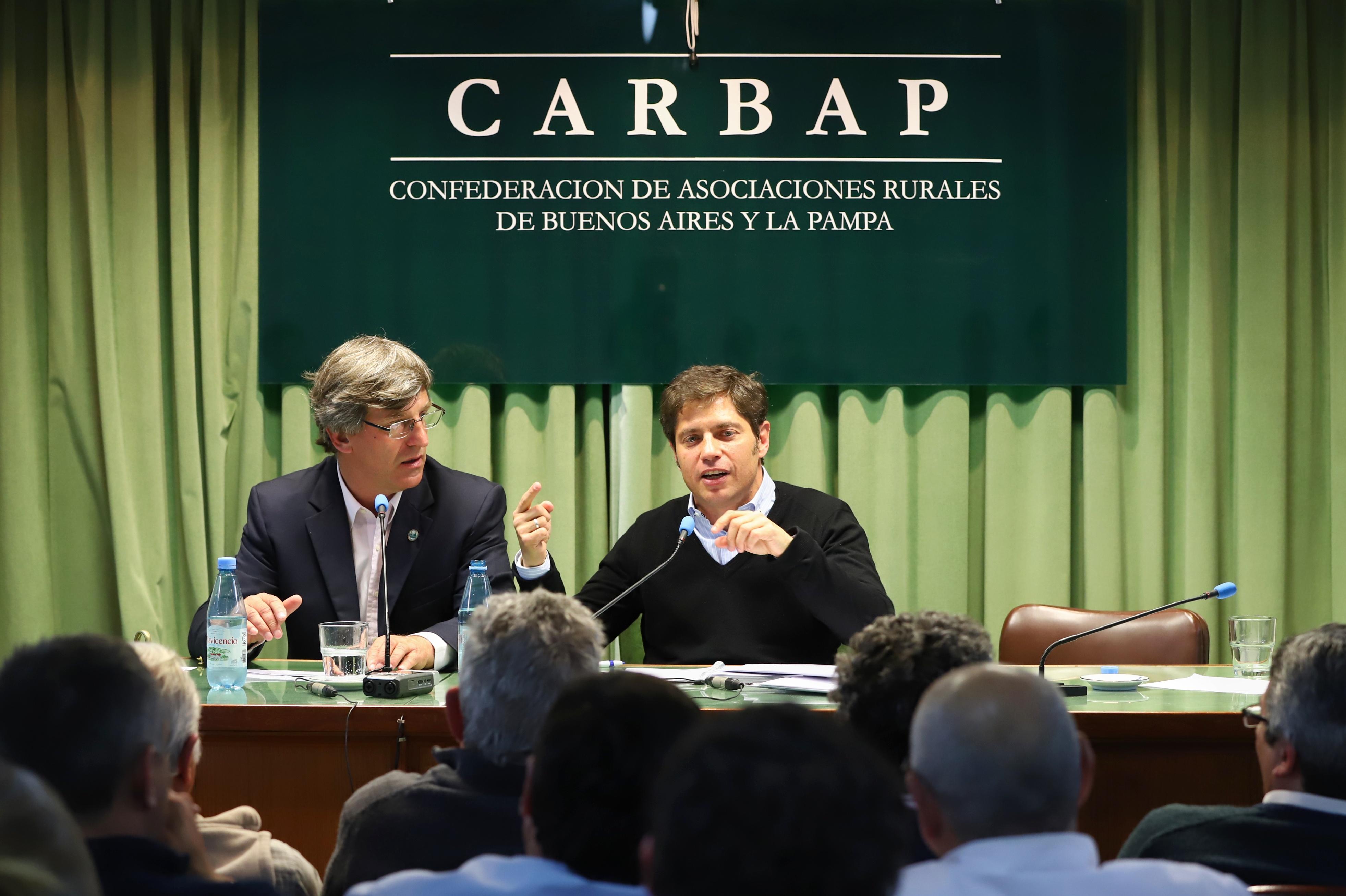 """""""Positivo encuentro entre  los productores y los principales candidatos a gobernadores de Buenos Aires"""""""