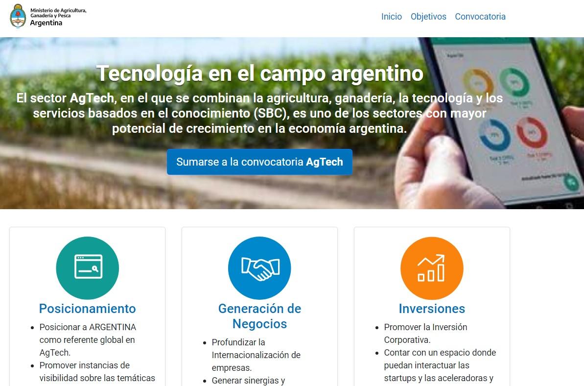 Agricultura lanza convocatoria al sector AgTech