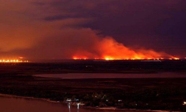 Quema de campos: entidades condenaron los incendios en Parana