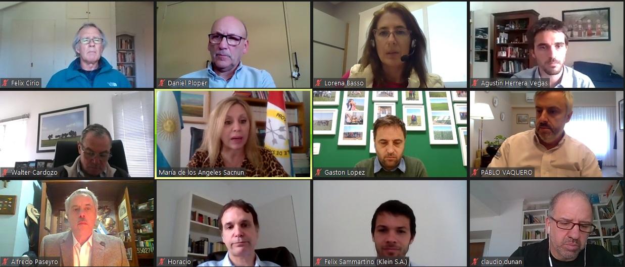 La senadora Sacnun se reunió con la Asociación Semilleros Argentinos