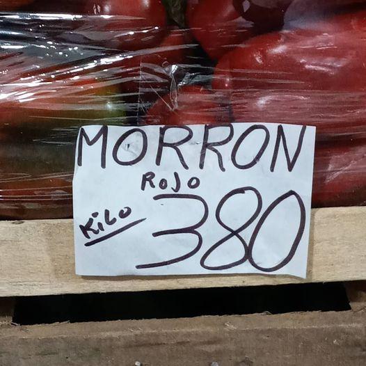 """El Kilo de morrón supera los $300.... """"Que rompi""""?"""