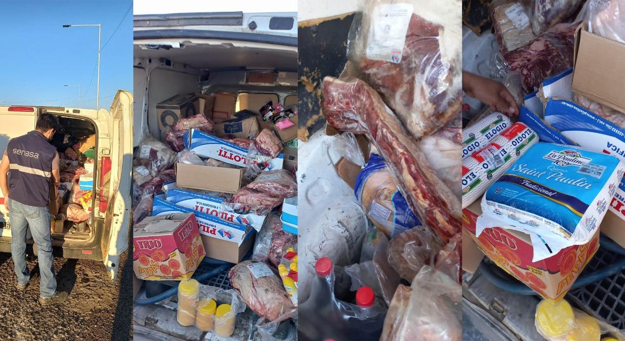 SENASA: se detecto en Río Negro 190 kg de carnes y lácteos sin refrigerar